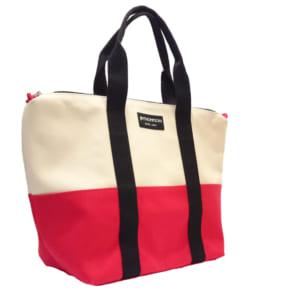 アムステルダムバッグ(赤・白) - AMSTERDAM BAG RED&WHITE