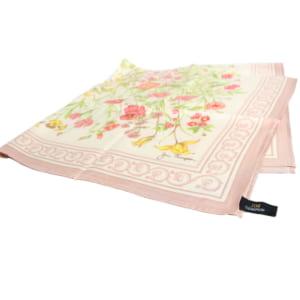 スカーフ 花柄 - SCARF FLOWER DESIGN